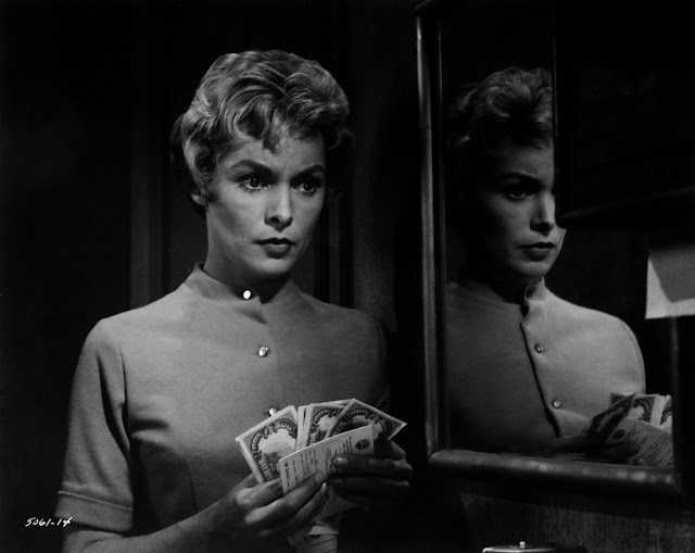 "Janet Leigh em ""Psicose"" (1960)"