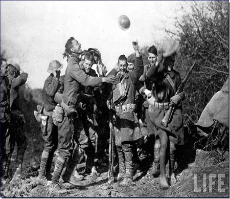Primeira guerra, momento de paz