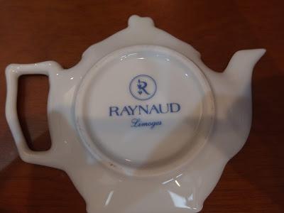 ティーバッグ レスト Raynaud Limoges
