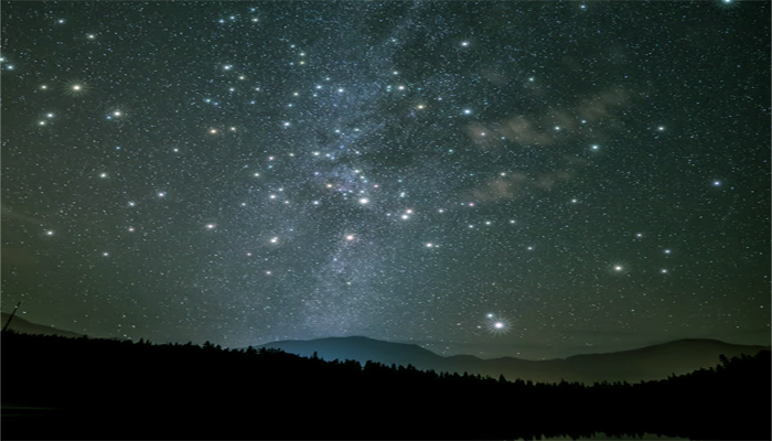 Pesona Bintang Di Malam Hari