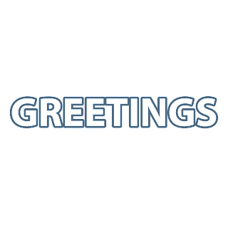 Greetings Transparent PNG
