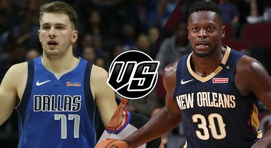 Live Streaming List: Dallas Mavericks vs New Orleans Pelicans 2018-2019 NBA Season