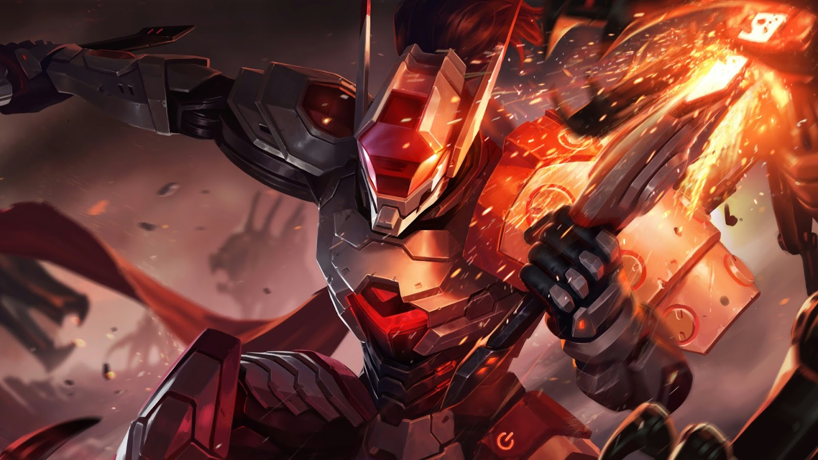 Wallpaper Saber Fullmetal Ronin Skin Mobile Legends HD for PC