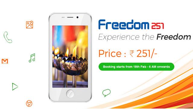 freedom 251 india smartphone