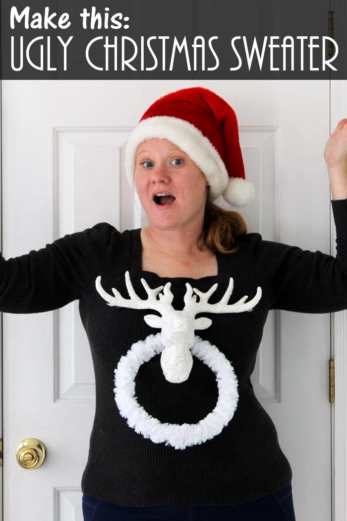 Ugly christmas sweater to make