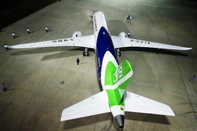El  C919, el primer avió comercial de la Xina