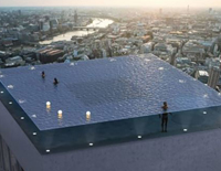 The World's 1st 360 Degree Infinity Pool In London