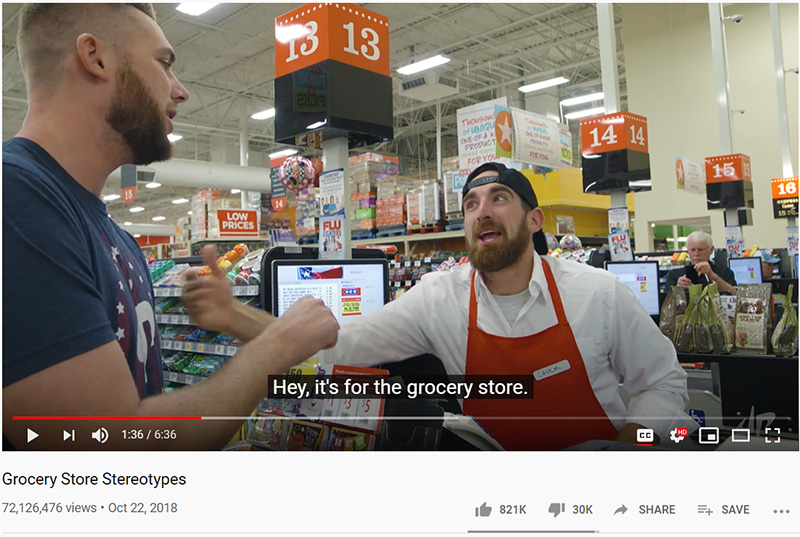 Grocery Store Stereotypes