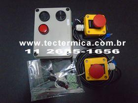 Figura 1 - Alarme Aprisionamento Camara Fria Norma NR36, modelo std