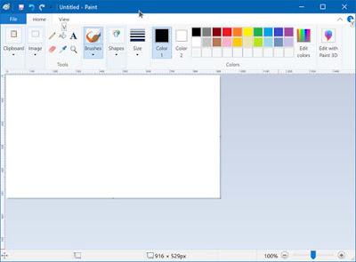 Cara Menginstal Atau Menghapus Instalasi Microsoft Paint Pada Windows 10
