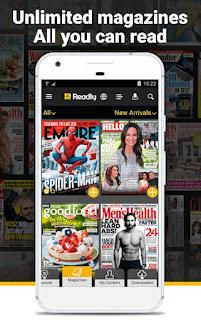 Readly – Digital Magazines v3.7.3 Full APK
