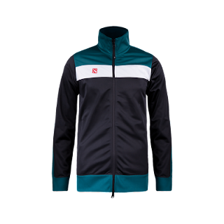 Jaket Dota2 Internasional 2017 Black Green