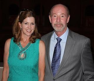 Karril Kornheiser with her husband Tony Korheiser