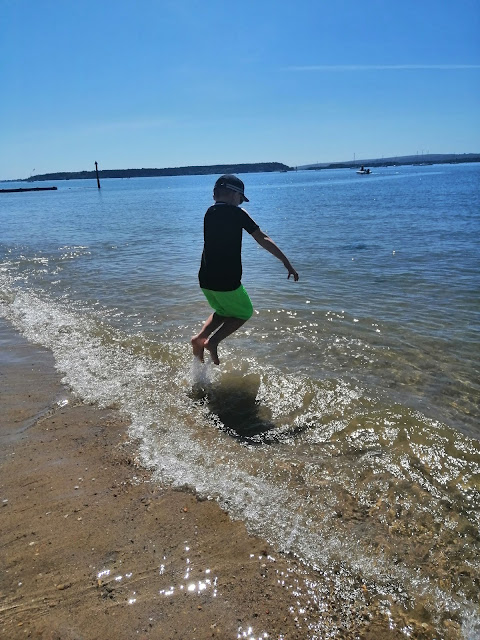 wave jumping at Hamworthy park