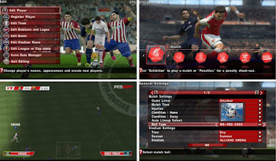 Download PES 2017 PPSSPP ISO By Army + Save Data Full Version