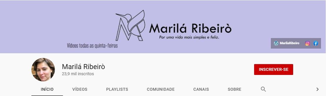 Marilá Ribeirò | Youtube
