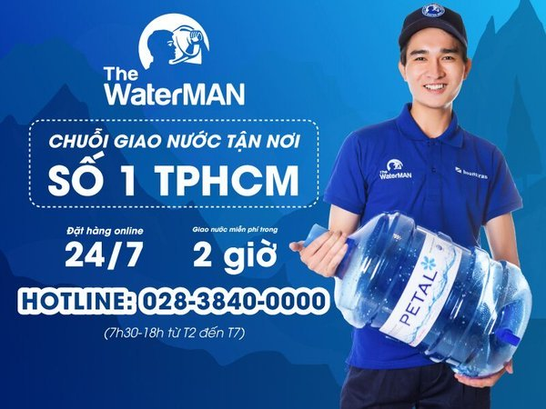 The Water MAN - Chuỗi giao nước tận nơi số 1 TPHCM