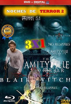 Noches De Terror 2 3X1 HD DVD LATINO 5.1