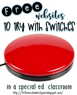 Free Websites to Use with Switches in a Special Education Classroom