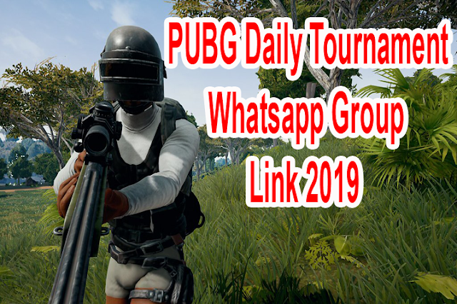 PUBG Daily Tournament Whatsapp Group Link 2019