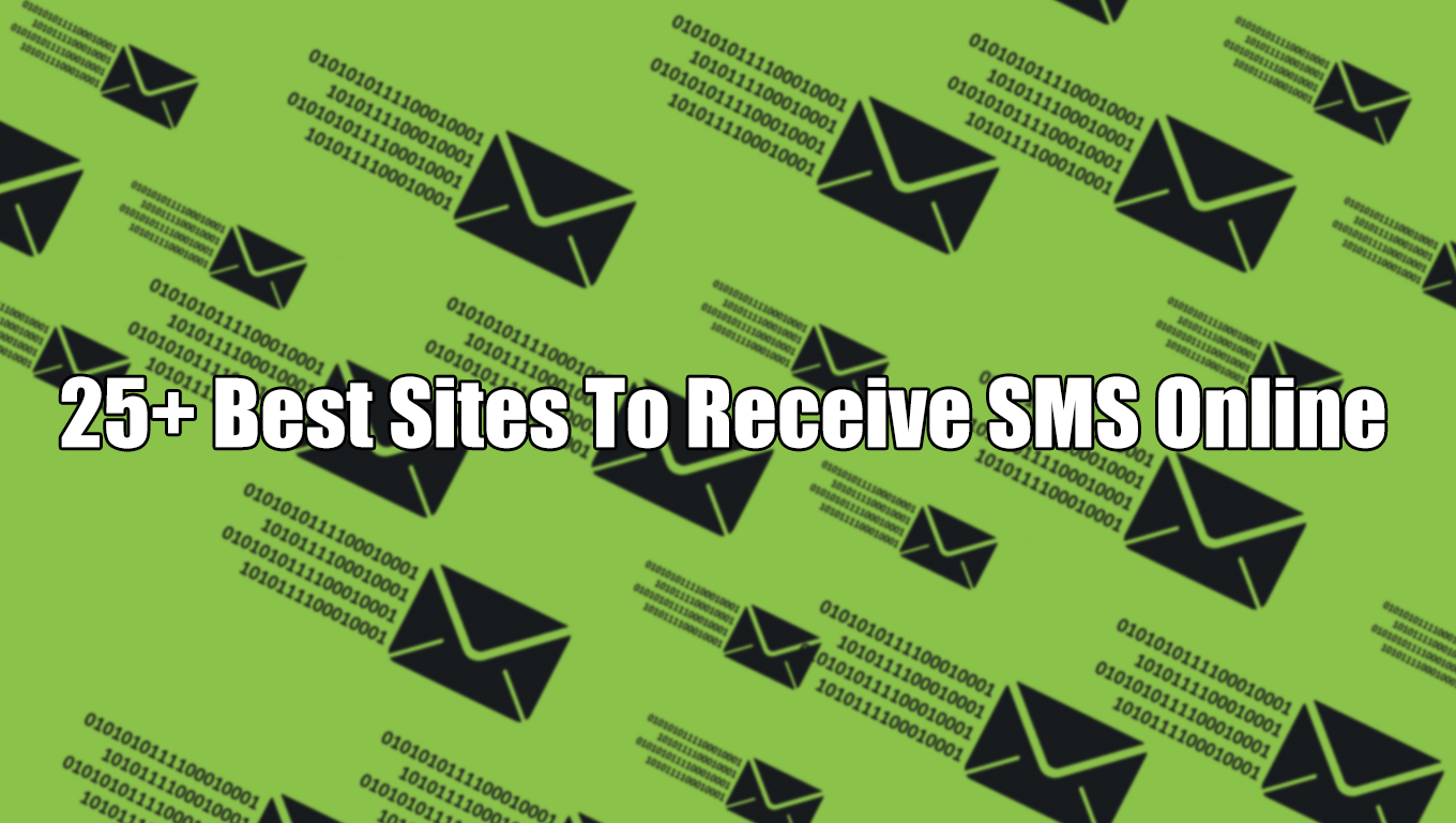 31 Best Sites To Receive SMS Online Without a Phone - Effect