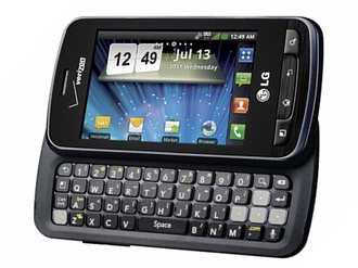 Verizon LG Enlighten Android QWERTY slider phone