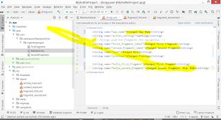 Varanasi Software Junction: Kotlin Strings.xml