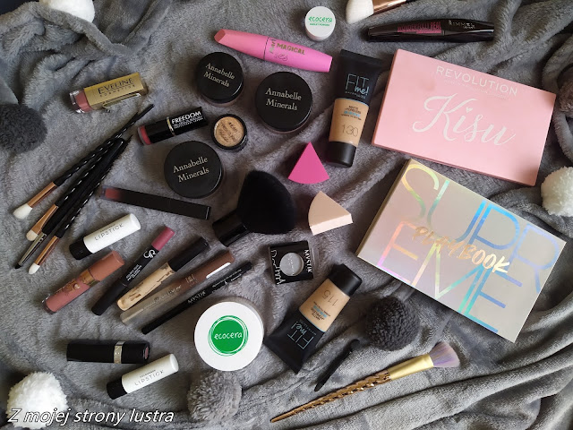 kosmetyki do makijaż blogerki