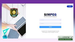 aplikasi simpeg sifika pemkab purworejo