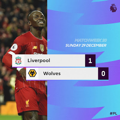 Senegalese striker Sadio Mane made himself the hero of a very tough match which saw Liverpool grind out a hard fought 1-0 win at Anfield against Wolves as the add three points.
