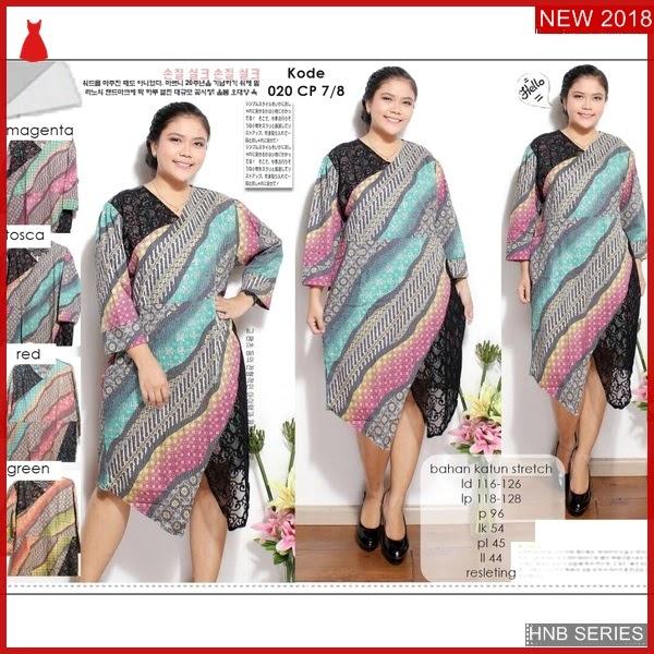 HNB206 Model Dress Cleo Ukuran Besar Jumbo Modis BMG Shop
