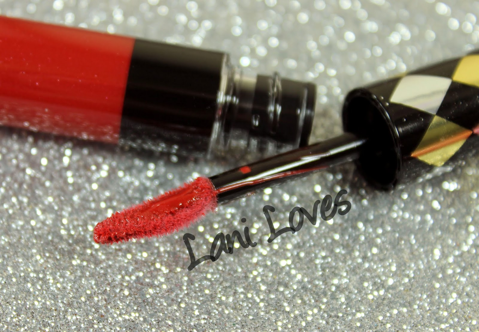 ZA Rich-Glam Liquid Rouge Limited Edition - Bold Red swatches & review