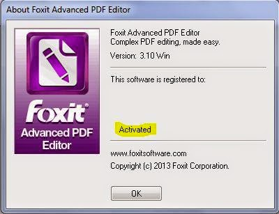 foxit pdf editor free download full version with crack