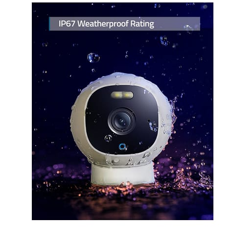 eufy T8441Z21 All-in-One Outdoor 2K Security Camera