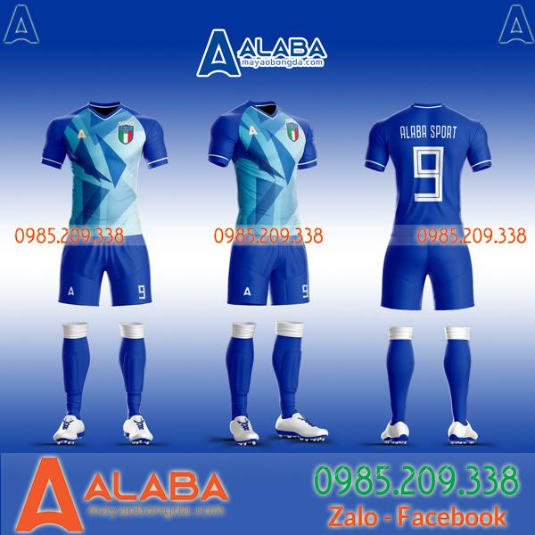 Áo đá bóng tự thiết kế đội tuyển Ý đẹp