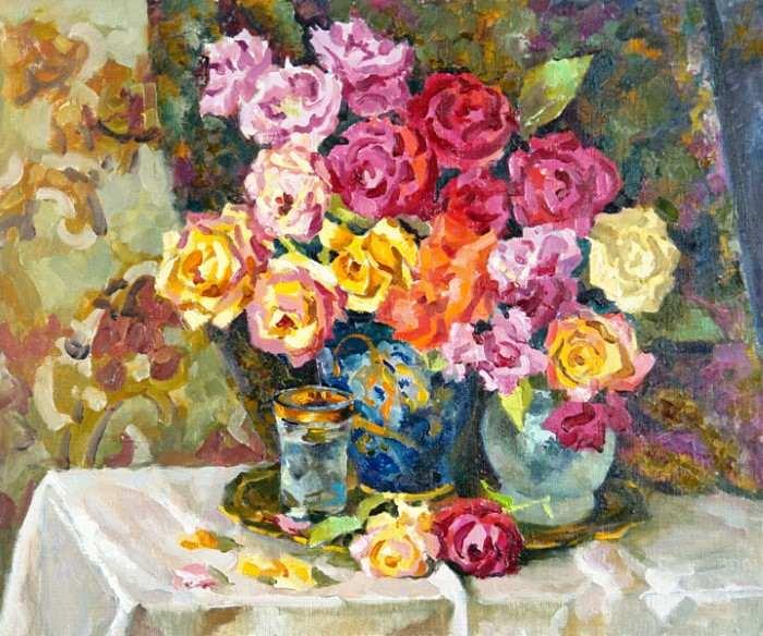 Богатство красок и форм. Валерий Изумрудов