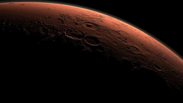 inundações em Marte