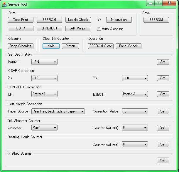 cara reset printer cannon menggunakan software resetter terbaru