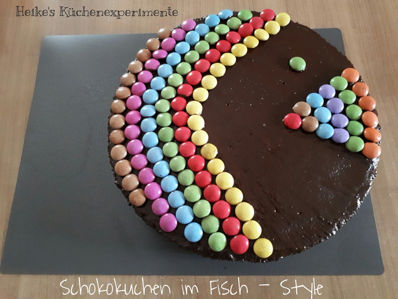 Heike S Kuchenexperimente Schokokuchen Im Fisch Style