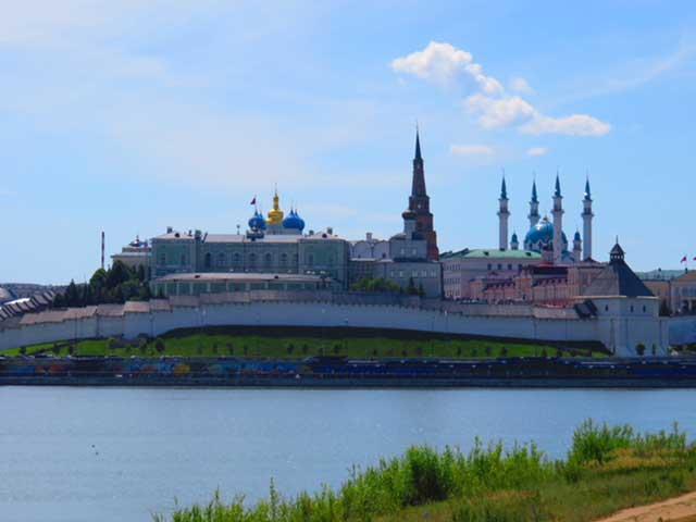 Kremlin across the water