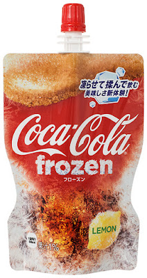 Coca-Cola Frozen Lemon in Japan