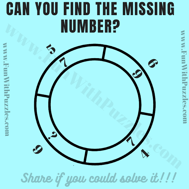 Can you solve this Mind-blowing Missing Number Math Logic Brain Teaser?