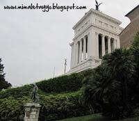 Vista desde la Plaza del Campidoglio, Roma