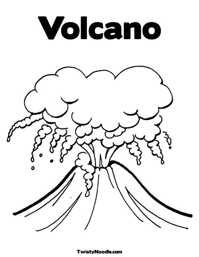 parts of a cinder cone volcano