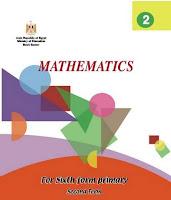 تحميل كتاب الرياضيات باللغة الانجليزية للصف السادس الابتدائى الترم الثانى