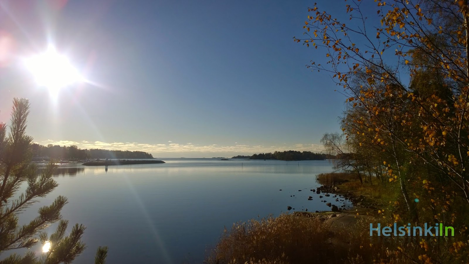 Fall morning in Hanasaari