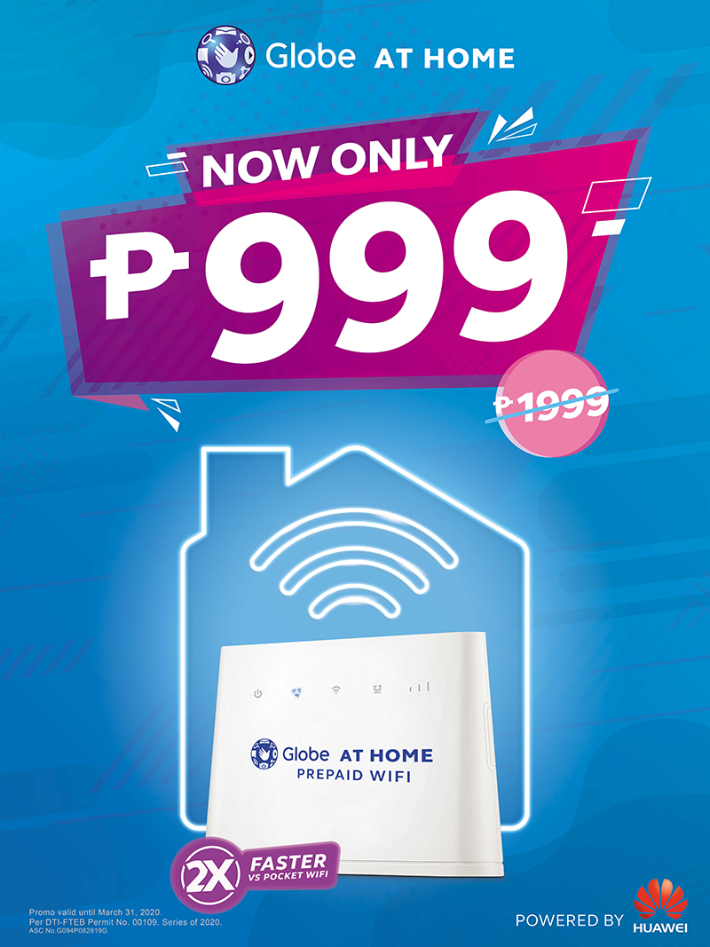Deal: Globe at Home Prepaid WiFi devices are now more affordable than ever