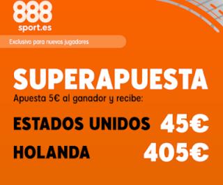888sport superapuesta EEUU vs Holanda 7 julio 2019