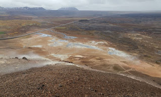 Námafjall Hverir. Alrededores del lago Mývatn. Islandia, Iceland.
