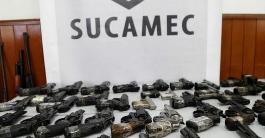 SUCAMEC: Más de 9 mil escolares ya conocen los peligros del uso de armas de fuego